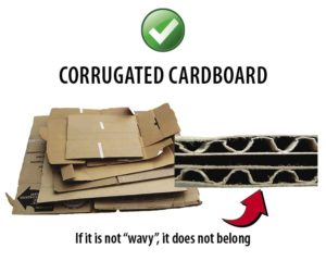 Southern Oregon Sanitation Recycle Corrugated Cardboard