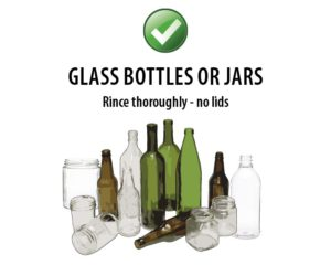 Southern Oregon Sanitation Recycle Glass Bottles or Jars