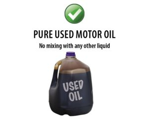 Southern Oregon Sanitation Recycle Used Motor Oil